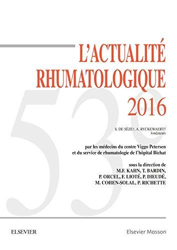 L'actualité rhumatologique 2016: Marcel-Francis Kahn; Thomas