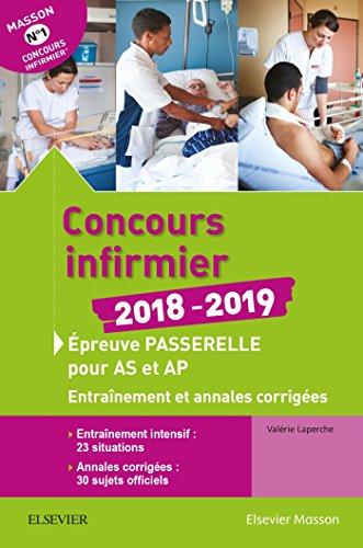 Concours infirmier 2018-2019. Épreuve passerelle pour aide-soignant: Laperche, Valérie