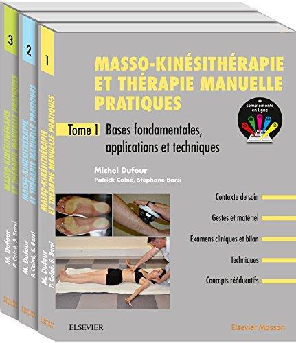 9782294759789: Masso-kinésithérapie et thérapie manuelle pratiques. Pack de 3 tomes: Pack 3 Tomes
