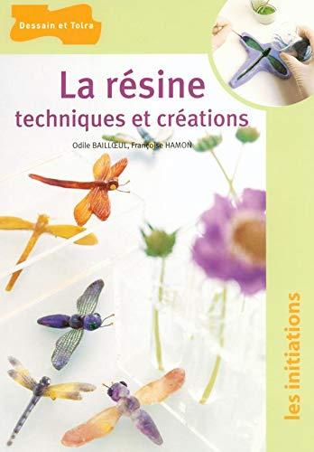 9782295000040: La résine : Techniques et créations