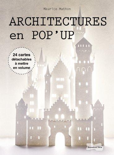 9782295002303: Architectures en pop-up