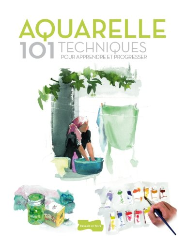 9782295003553: Aquarelle 101 techniques pour apprendre et progresser (French Edition)