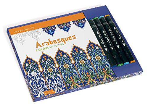 9782295003713: Arabesques a colorier aux feutres