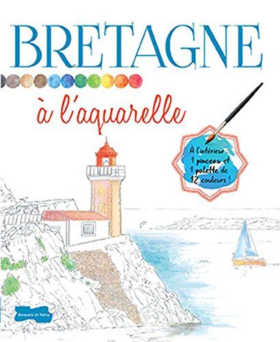 9782295003843: Bretagne � l'aquarelle