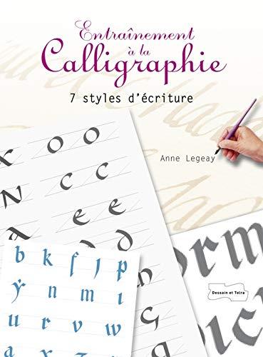 9782295004079: Entraînement à la calligraphie