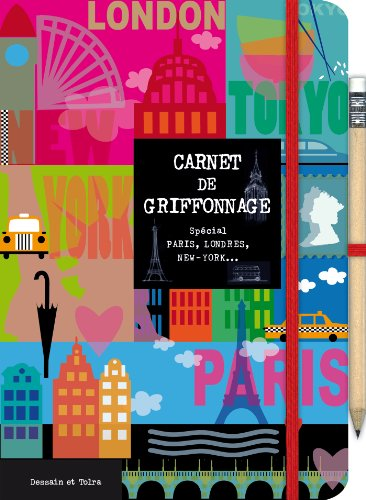 9782295004451: Carnet de griffonnage - Paris-Londres-New York