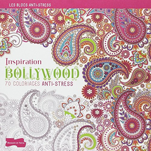 9782295004956: Inspiration Bollywood - 70 coloriages anti stress (French Edition)
