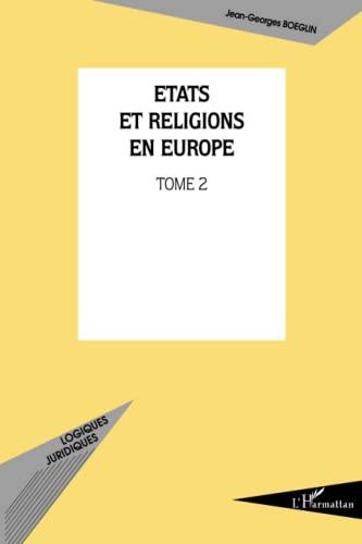 9782296003149: Etats et religions en Europe. : 2