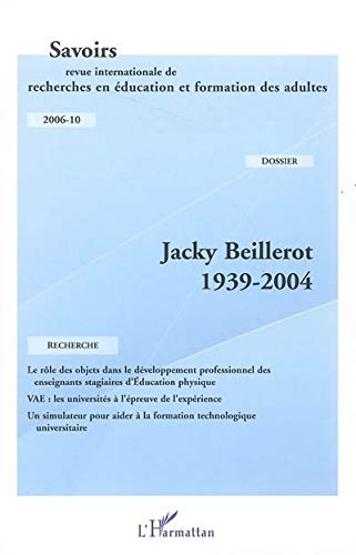 9782296004061: Jacky Beillerot 1939-2004 (French Edition)