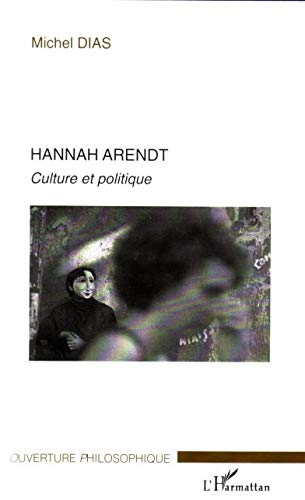9782296013513: Hannah Arendt (French Edition)