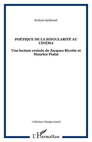 9782296013568: Poétique de la singularité au cinéma (French Edition)