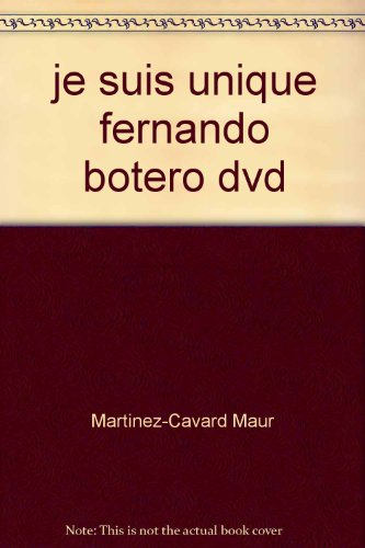 9782296020474: Je Suis Unique Fernando Botero DVD