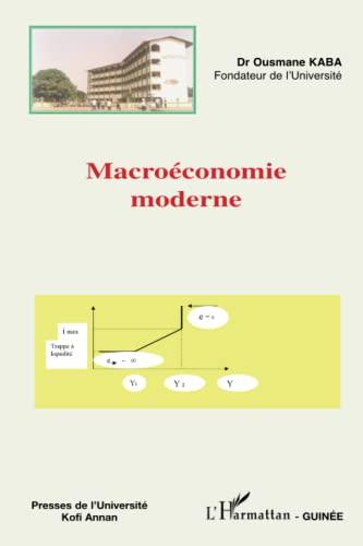 9782296030169: Macroéconomie moderne (French Edition)