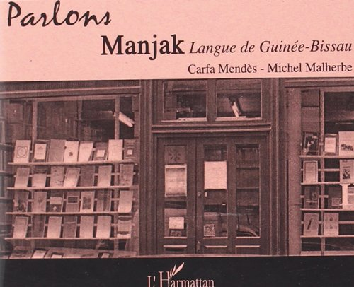9782296030695: CD Parlons Manjak (French Edition)