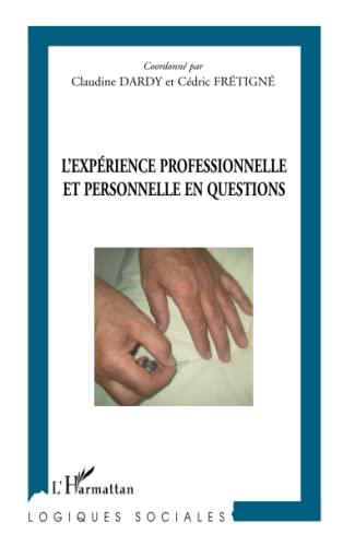 9782296033252: L'expérience professionnelle et personnelle en questions (French Edition)