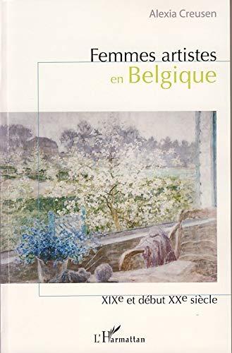9782296033726: Femmes artistes en Belgique