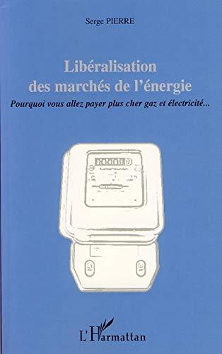 9782296036918: Libéralisation des marchés de l'énergie : Pourquoi vous allez payer plus cher gaz et électricité.