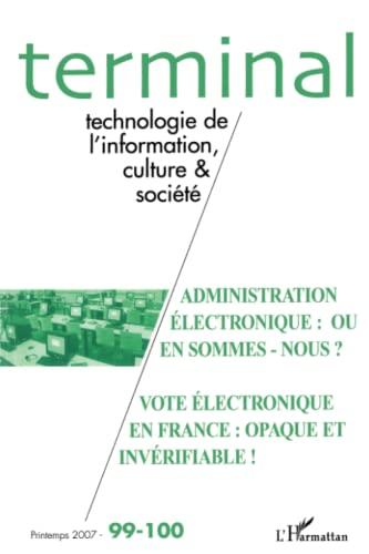 9782296037366: Administration Electronique Ou en Sommes Nous (French Edition)