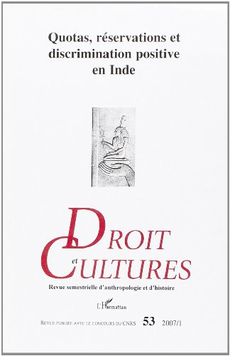 9782296037571: Quotas Reservations et Discrimination Positive en Inde (French Edition)