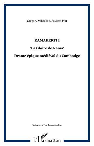 9782296039773: Ramakerti 1 : La Gloire de Rama