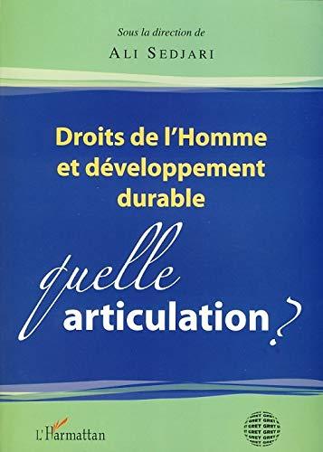 9782296045101: Droits de l'homme et développement durable (French Edition)