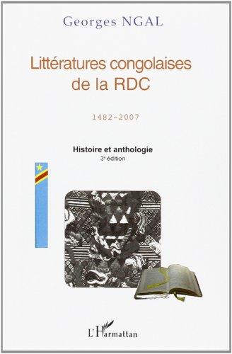 9782296047457: Littératures congolaises de la RDC (1482-2007) (French Edition)