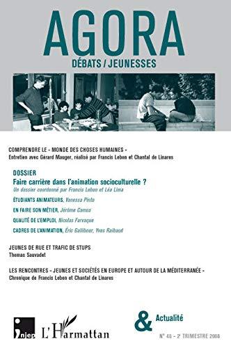 9782296060388: Agora Débats/Jeunesse, N° 48 :