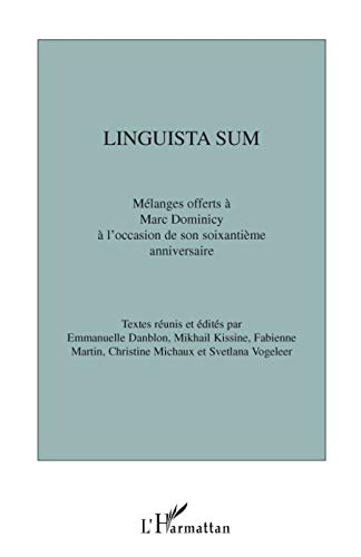 9782296062597: Linguista sum (French Edition)