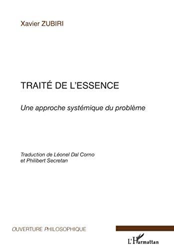9782296065451: Traité de l'essence (French Edition)
