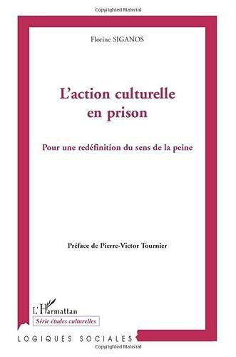 9782296070233: L'action culturelle en prison: Pour une redéfinition du sens de la peine (French Edition)