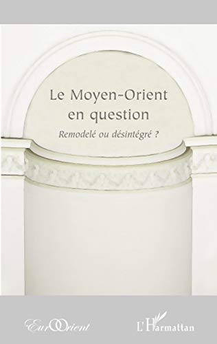 9782296076686: Le Moyen-Orient en question (French Edition)