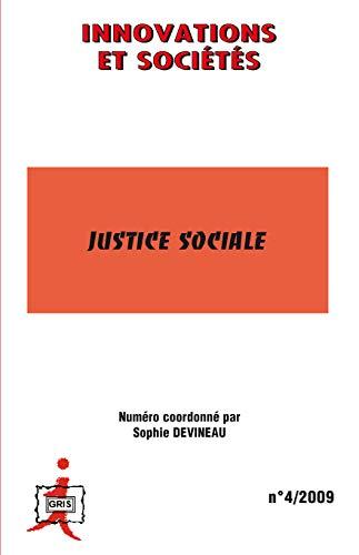 9782296092495: Innovations et Sociétés, N° 4/2009 : Justice sociale