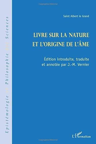 9782296099487: Livre sur la nature et l'origine de l'âme