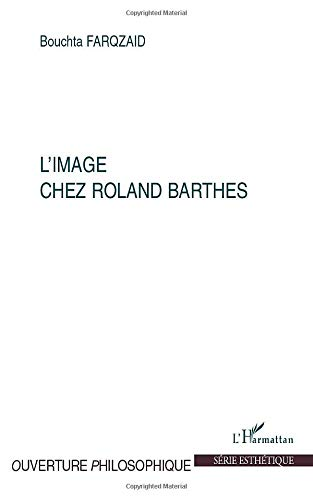 9782296114159: IMAGE CHEZ ROLAND BARTHES (French Edition)