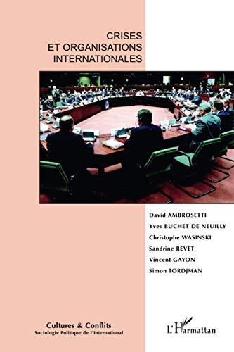 Cultures & conflits, N° 75 : Crises: David Ambrosetti; Christophe