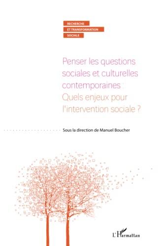 9782296115064: Penser les questions sociales et culturelles contemporaines : Quels enjeux pour l'intervention sociale ?