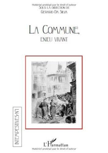 9782296117709: Commune Enjeu Vivant (French Edition)