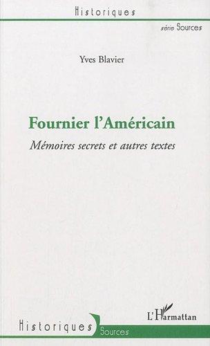 9782296120266: Fournier l'Américain (French Edition)