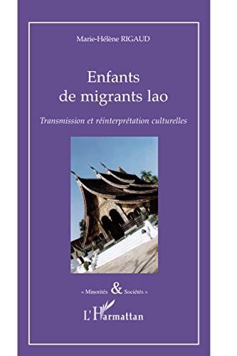 9782296120594: Enfants de migrants lao (French Edition)