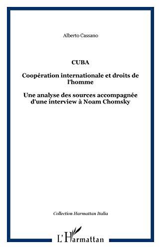 9782296122079: Cuba : Coop�ration internationale et droits de l'Homme