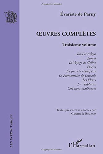 9782296127913: Oeuvres Complètes: Troisième volume (French Edition)
