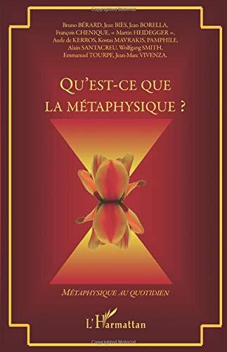 9782296129016: Qu'est-ce que la métaphysique ? (French Edition)