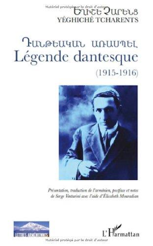 9782296131743: Légende dantesque, 1915-1916