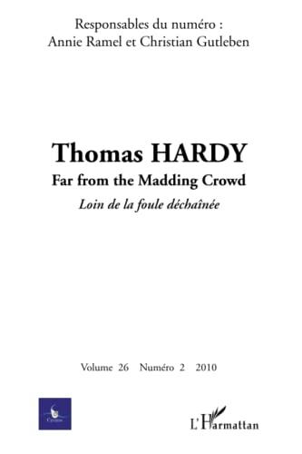 9782296138278: Thomas Hardy: N° 2 - 2010 (French Edition)
