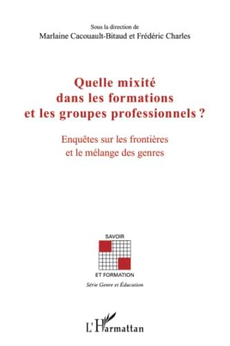 9782296554597: Quelle Mixite Dans les Formations et les Groupes Professonnels Enquêtes Sur les Frontieres et le Mel