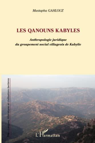 9782296560420: Les Qanouns kabyles (French Edition)