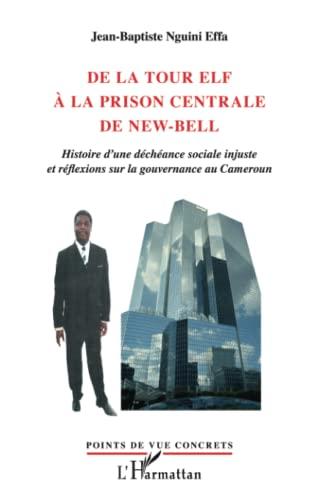 9782296565319: De la Tour Elf a la Prison Centrale de New Bell Histoire d'une Decheance Sociale Injuste et Reflexio