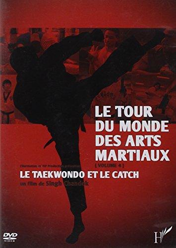 9782296574625: DVD tour du monde (vol 4) des arts martiaux le taekwondo et le catch