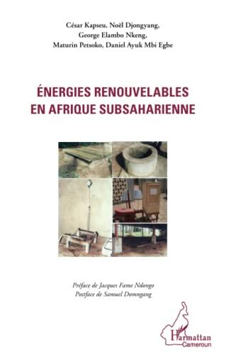 9782296991026: Energies renouvelables en Afrique subsaharienne (French Edition)