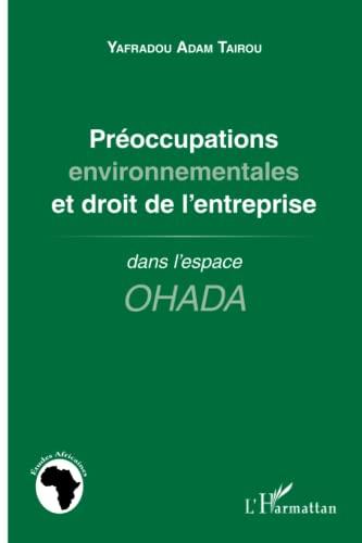 9782296993914: Préoccupations environnementales et droit de l'entreprise: dans l'espace OHADA (French Edition)